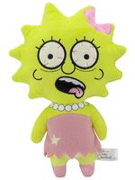Мягкая фигурка Simpsons Zombie Lisa