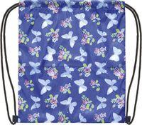 "Рюкзак-мешок ""Бабочки на синем"""
