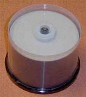 Диск DVD-R 4.7Gb 16x Ridata Printable (полная заливка) CakeBox 10