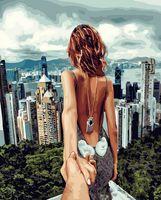 """Картина по номерам """"Следуй за мной. Гонконг"""" (400х500 мм)"""