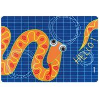 "Подставка сервировочная пластмассовая ""Hello. Змея"" (435х297 мм)"