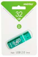 USB Flash Drive 32Gb SmartBuy Glossy series (Green)