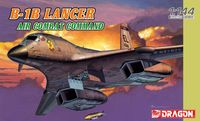 "Самолет ""B-1B Lancer Air Combat Command "" (масштаб: 1/144)"