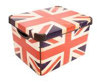 """Коробка для хранения """"British Flag"""" (39,5х29,5х25 см)"""