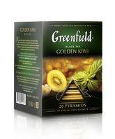 """Чай черный """"Greenfield. Golden Kiwi"""" (20 пакетиков)"""