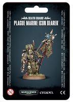 Warhammer 40.000. Death Guard. Plague Marines Icon Bearer (43-47)