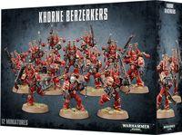 Warhammer 40.000. Chaos Space Marines. Khorne Berzerkers (43-10)
