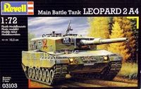 "Танк ""Leopard 2 A4"" (масштаб: 1/72)"