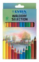 """Набор карандашей цветных """"Super Ferby Lacc Waldorf"""" (12 цветов)"""