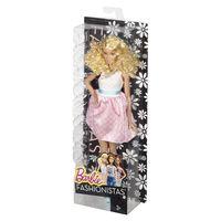 """Кукла """"Барби. Игра с модой. Блондинка в нежном платье"""""""