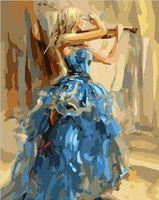 """Картина по номерам """"Мелодия скрипки"""" (400х500 мм)"""