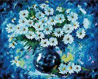 """Алмазная вышивка-мозаика """"Голубая симфония"""" (400х500 мм)"""