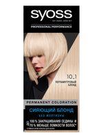 """Крем-краска для волос """"Syoss"""" тон: 10-1, перламутровый блонд"""