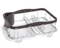 "Сушилка для посуды ""Sinkin"" (280х140х470 мм; черная)"