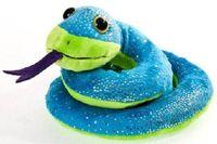 """Мягкая игрушка """"Змея синяя"""" (50 см)"""