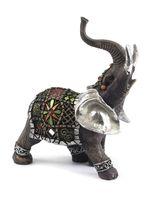 """Статуэтка пластмассовая """"Слон"""" (15*7,5*18 см, арт. XY-JM003-2)"""