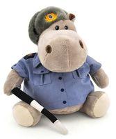 """Мягкая игрушка """"Бегемот Полицейский"""" (20 см)"""