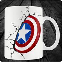 """Кружка """"Капитан Америка"""" (art.1)"""