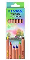 "Цветные карандаши ""SUPERFERBY NATURE WALDORF"" (6 цветов)"
