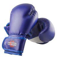 Перчатки боксёрские LTB-16301 (S/M; синие; 6 унций)