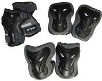 Комплект роликовой защиты ASGK-02 (S; чёрный)