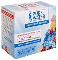 """Стиральный порошок-концентрат """"Pure water. Для стирки цветного белья"""" (800 г)"""