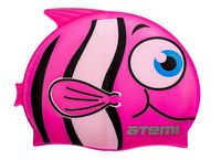 Шапочка для плавания (розовая; арт. FC104)