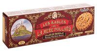 """Печенье сливочное """"La Mère Poulard. С кусочками шоколада"""" (125 г)"""