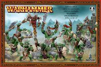 "Набор миниатюр ""Warhammer FB. Orc & Goblin Savage Orcs"" (89-19)"