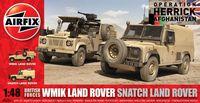 "Набор военных автомобилей ""Land Rover"" (масштаб: 1/48)"
