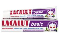 """Зубная паста """"Lacalut Basic. Черная смородина и имбирь"""" (75 мл)"""
