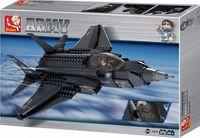"""Конструктор """"ВВС. Истребитель F-35. Молния"""" (252 детали)"""