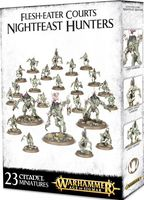 Warhammer Age of Sigmar. Flesh-Eater Courts. Nightfeast Hunters (100-09)