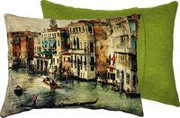 """Подушка """"Венеция"""" (45x35 см; зелёная)"""