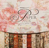 """Набор бумаги для скрапбукинга """"Королевские розы"""" (305х305 мм)"""