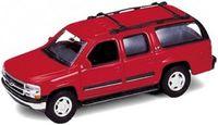 """Модель машины """"Welly. Chevrolet Suburban 2001"""" (масштаб: 1/34-39)"""