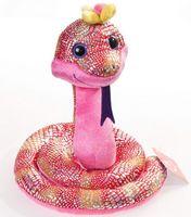 """Мягкая игрушка """"Веселая змея с цветком"""" (40 см)"""