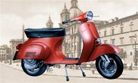 "Мотороллер ""Vespa Primavera125 CC."" (масштаб: 1/9)"