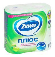 """Туалетная бумага """"Zewa Плюс. Яблоко"""" (4 рулона)"""