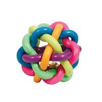 """Игрушка для собак """"Мяч-лабиринт с колокольчиком"""" (9,5 см)"""