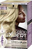 """Краска для волос """"Color Expert"""" тон: 9.1, холодный блонд"""