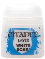 Paint Pots: White Scar 12ml (22-57)
