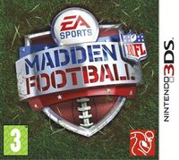 Madden NFL Football (Nintendo 3DS)
