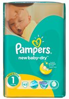 "Подгузники ""Pampers New Baby Newborn"" (2-5 кг, 43 шт)"