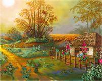 """Набор для вышивания """"Утро в деревне"""""""