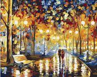"Картина по номерам ""В дождливый вечер"" (400х500 мм)"