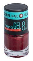 """Лак для ногтей """"Nano Gel Color"""" (тон: 16, бордовый перламутр)"""