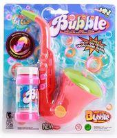 """Игрушка для выдувания мыльных пузырей """"Саксофон"""""""