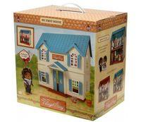 """Дом для кукол """"Домик с голубой крышей"""""""