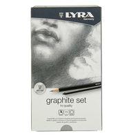 """Набор художественных предметов """"LYRA GRAPHITE SET"""" (11 предметов)"""